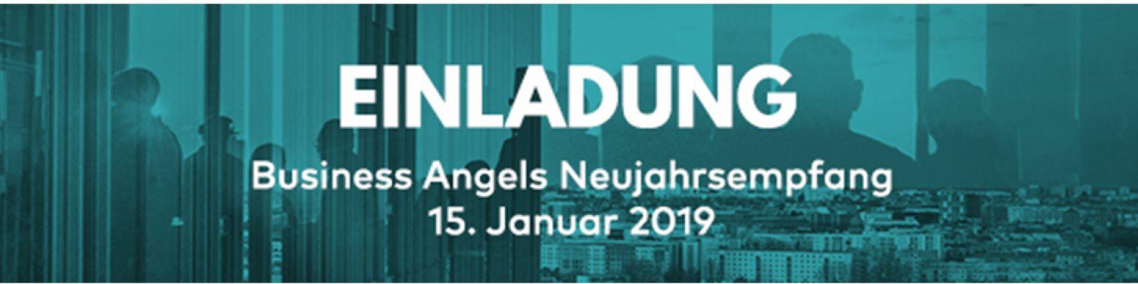 Business Angels Neujahrsempfang Header